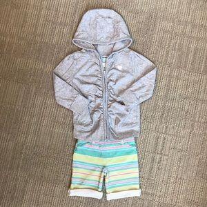 Old Navy Hoodie & Bermuda Shorts